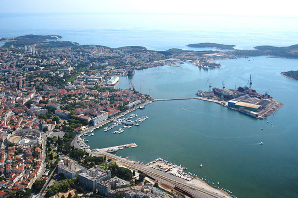 Port of Pula